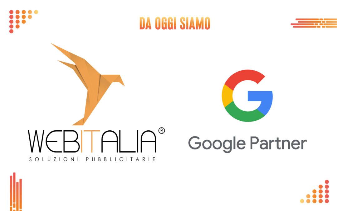 WEB ITALIA è oggi una delle poche AGENZIE WEB firmate Google Partner in Abruzzo, certificata